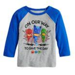 Toddler Boy Jumping Beans® PJ Masks Owlette, Catboy & Gekko Raglan Graphic Tee