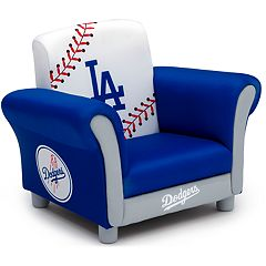 Delta Children Los Angeles Dodgers Kids Upholstered Arm Chair