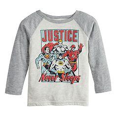 Toddler Boy Jumping Beans® Justice League Raglan Graphic Tee
