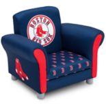 Delta Children Boston Red Sox Kids Upholstered Arm Chair