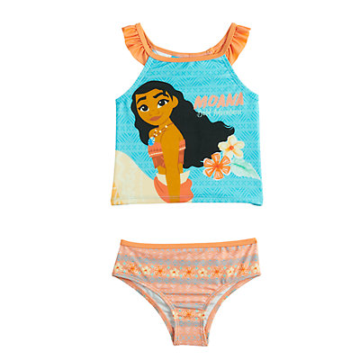 Disney's Moana Toddler Girl Two-Piece Swimsuit by Dreamwave