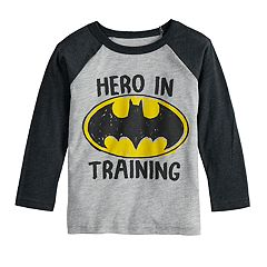 Toddler Boy Jumping Beans® DC Comics Batman 'Hero In Training' Raglan Graphic Tee