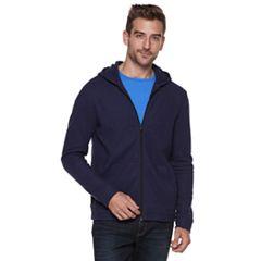 Men's Apt. 9®  Textured Full-Zip Hoodie