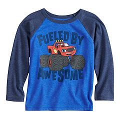 Toddler Boy Jumping Beans® Blaze & The Monster Machines Raglan Graphic Tee