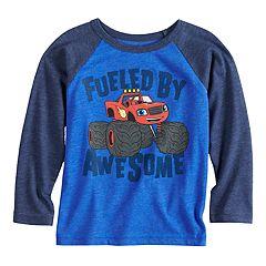 Toddler Boy Jumping Beans® Blaze & The Monster Machines Raglan Graphic Tee