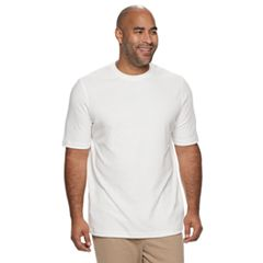 Big & Tall Croft & Barrow® Classic-Fit Extra Soft Interlock Pocket Crewneck Tee