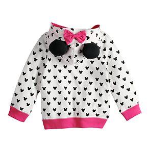 Disney's Minnie Mouse Toddler Girl Polka-Dot Hoodie