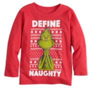 "Toddler Boy Jumping Beans® Dr. Seuss The Grinch ""Define Naughty"" Graphic Tee"