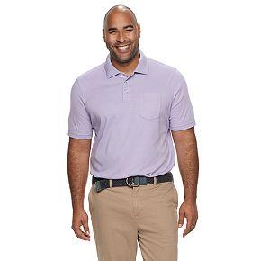 Big & Tall Croft & Barrow® Classic-Fit Extra-Soft Interlock Pocket Polo