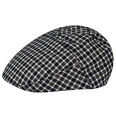 Men's Country Gentleman Toby Plaid Flat Ivy Cap