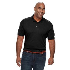 05a588bfc4 Big   Tall Croft   Barrow® Classic-Fit Extra-Soft Interlock Polo