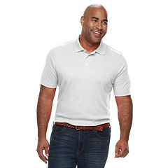 Big & Tall Croft & Barrow® Classic-Fit Extra-Soft  Interlock Polo