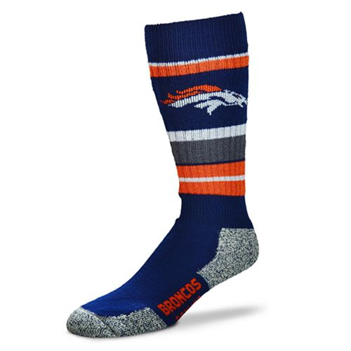 Adult Denver Broncos Outdoor Hiking Crew Socks