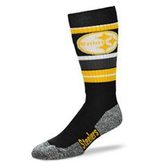 Adult Pittsburgh Steelers Outdoor Hiking Crew Socks