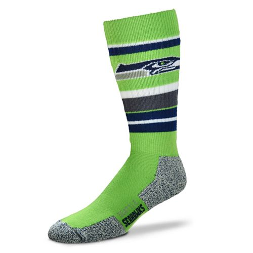 Adult Seattle Seahawks Outdoor Hiking Crew Socks