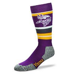 Adult Minnesota Vikings Outdoor Hiking Crew Socks