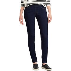 Women's Chaps Mid-Rise Pull-On Jeggings
