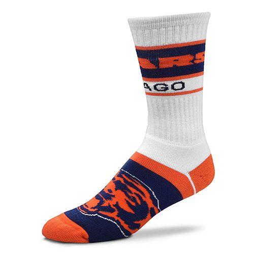 Men's For Bare Feet Chicago Bears Fashion Play Crew Socks