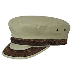 Men's Country Gentleman Cotton-Blend Greek Fisherman Cap