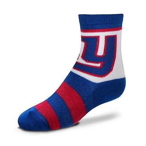 Toddler For Bare Feet New York Giants Crew Socks