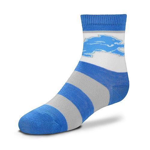 Toddler For Bare Feet Detroit Lions Crew Socks