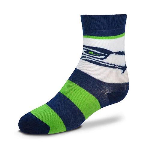 Toddler For Bare Feet Seattle Seahawks Crew Socks