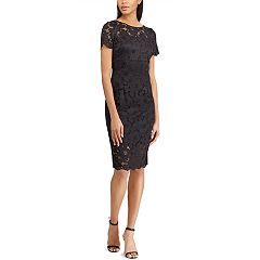 Women's Chaps Lace Sheath Dress