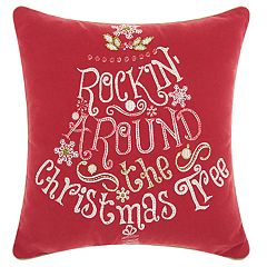 Kathy Ireland 'Christmas Tree' Throw Pillow