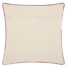 "Kathy Ireland ""Noel"" Christmas Throw Pillow"