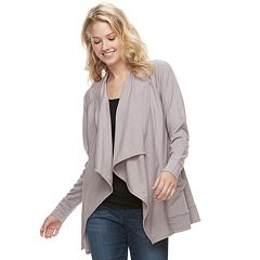Petite SONOMA Goods for Life™ Supersoft Cascade Cardigan