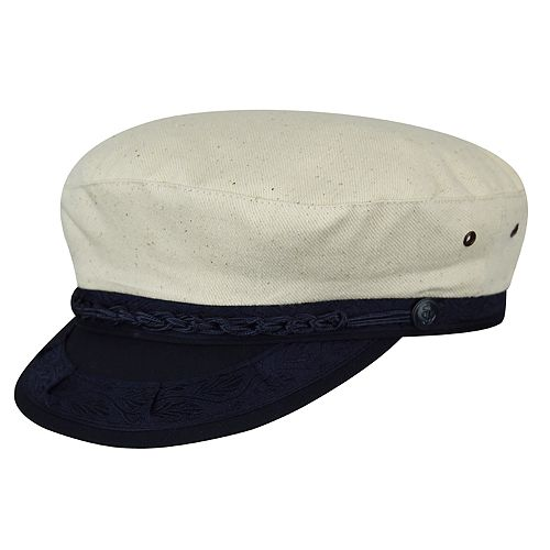Men's Country Gentleman Canvas Greek Fisherman Cap