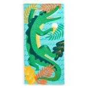 Jumping Beans Alligator Beach Towel