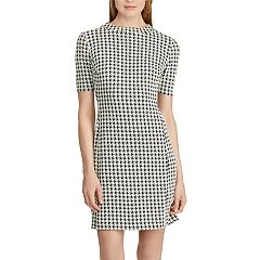 Women's Chaps Plaid Fit & Flare Dress