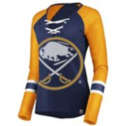 Women's Buffalo Sabres Lace-Up Tee
