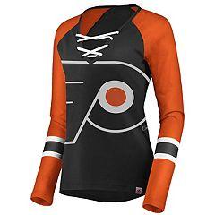 Women's Philadelphia Flyers Lace-Up Tee