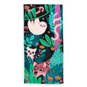 Jumping Beans Jungle Sloth Beach Towel