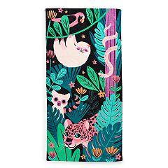 Jumping Beans Jungle Sloth Beach Towel