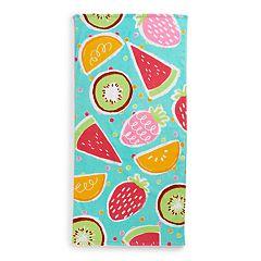 Jumping Beans Fruit Beach Towel
