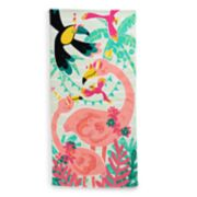 Jumping Beans Flamingo Beach Towel