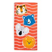 Jumping Beans Boy Heads Beach Towel