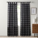 SONOMA Goods for Life? 2-pack Montgomery Plaid Window Curtain