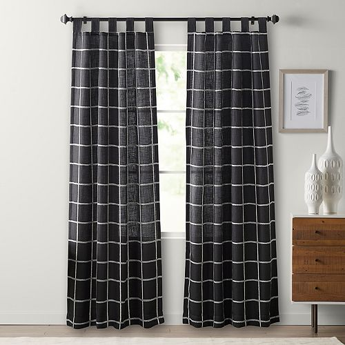 SONOMA Goods for Life™ 2-pack Montgomery Plaid Window Curtain