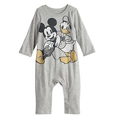 Disney's Mickey Mouse & Donald Duck Baby Graphic Coverall by Jumping Beans®