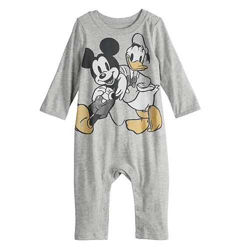 32c81ddd2c9d Disney s Mickey Mouse   Donald Duck Baby Graphic Coverall by Jumping ...