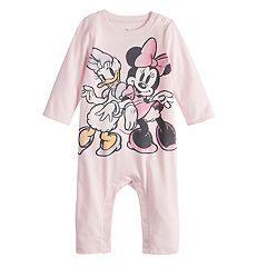 Disney's Minnie Mouse & Daisy Duck Baby Girl Graphic Coverall by Jumping Beans®