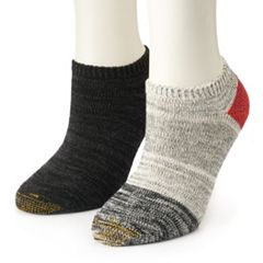 Women's GOLDTOE® 2-Pack Lodge No-Show Socks