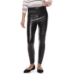 Juniors' Tinseltown Faux-Leather High-Waisted Pants