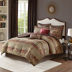 Madison Park Wyeth 8-piece Chenille Jacquard Comforter Set