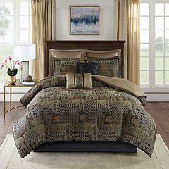 Madison Park Belgian 8-piece Chenille Jacquard Comforter Set