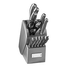 Cuisinart Stainless Steel 13-piece Knife Block Set